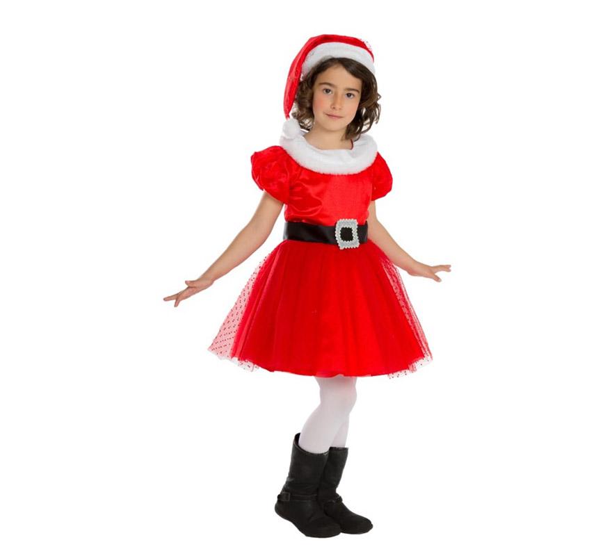 Disfraz de mam noel para beb s y ni as para navidad - Disfraces para navidad ninos ...