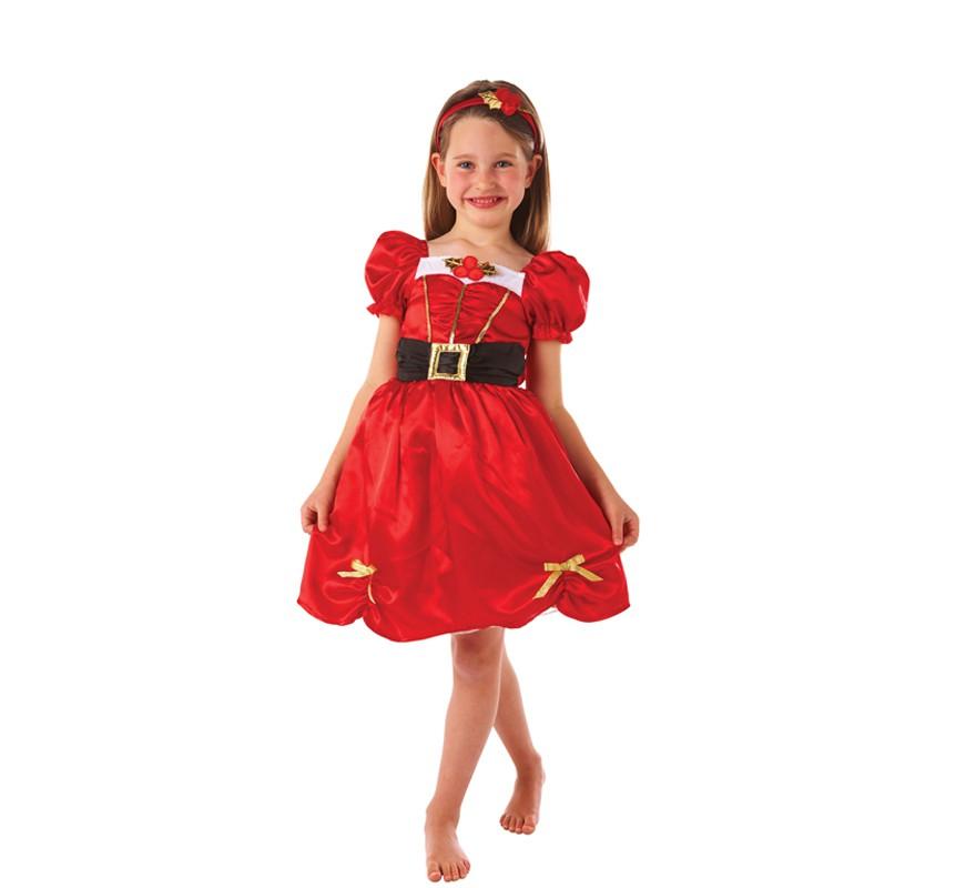 Disfraz de Mam Noel para nias para Navidad