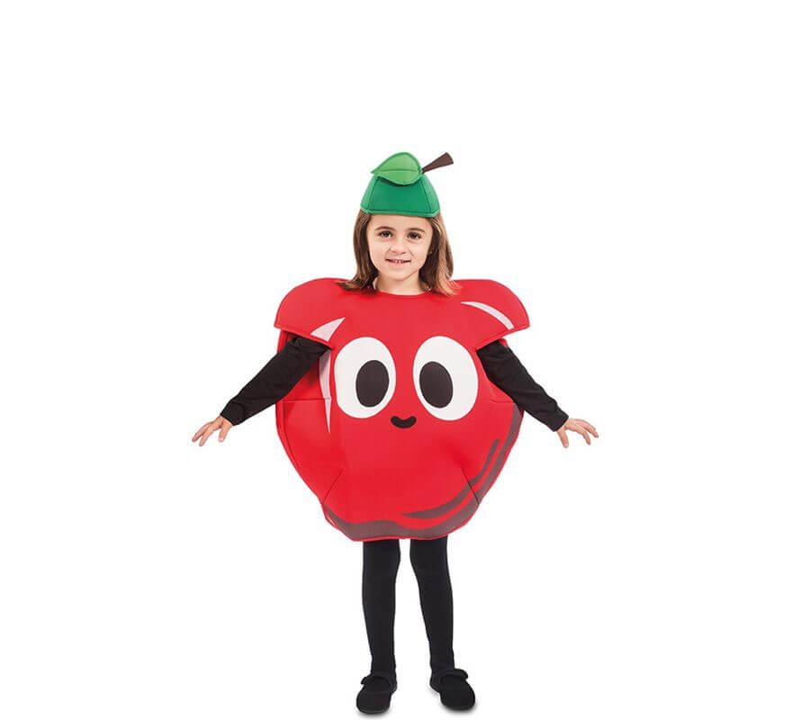 c66d45ace Disfraz de Manzana para niños y bebé