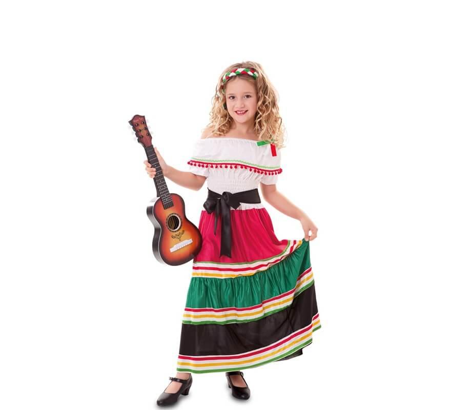 Disfraz De Mariachi Mexicana Para Niña