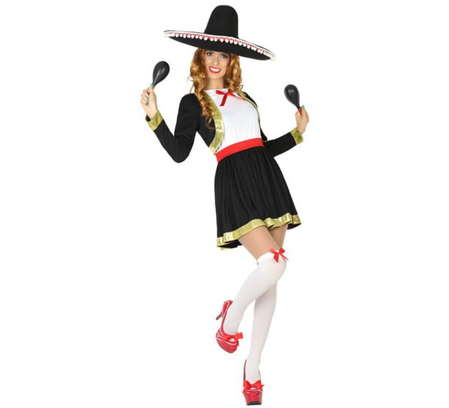 Traje de mariachi mujer blanco