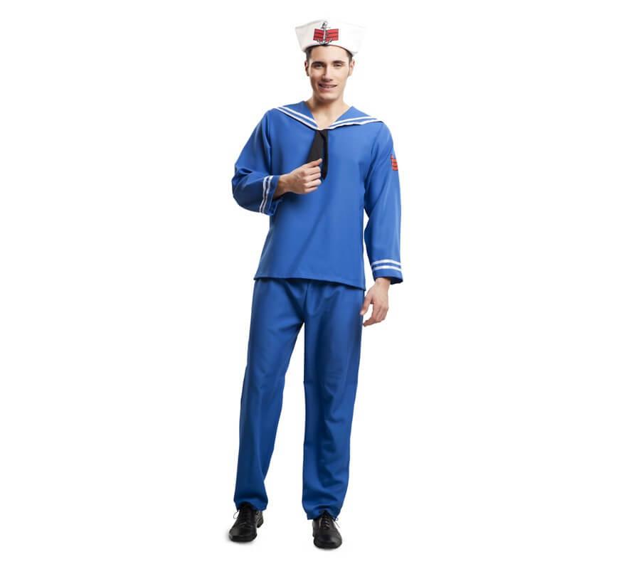 Disfraz de marinero casero perfect disfraz de mago azul beb with disfraz de marinero casero - Disfraz marinera casero ...
