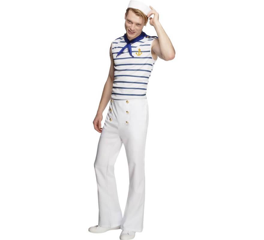 Disfraz de marinero grumete sexy para hombre - Disfraz de marinero casero ...