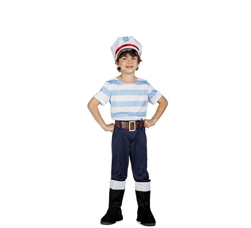 Disfraz de marinero lobo de mar para ni o - Disfraz de marinero casero ...