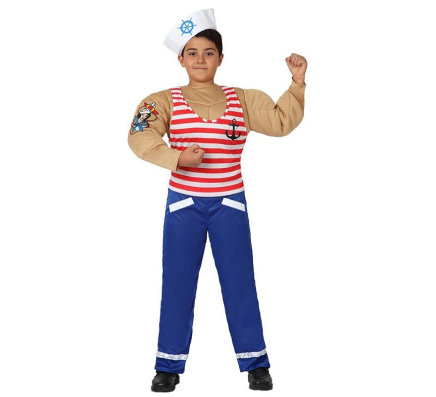 Trajes infantiles para ni as - Disfraz de marinero casero ...