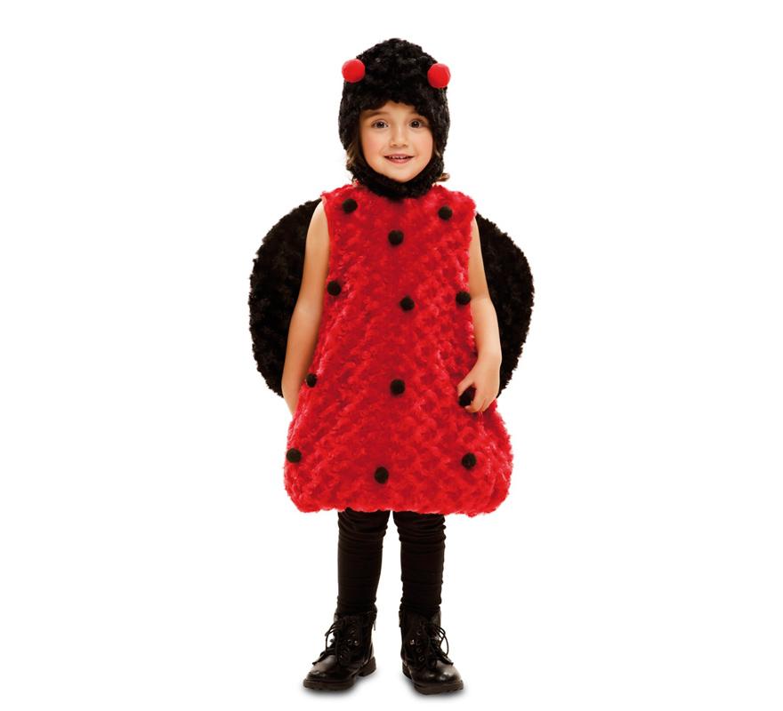 Disfraz de mariquita de peluche para ni a - Disfraz de mariquita de nina ...