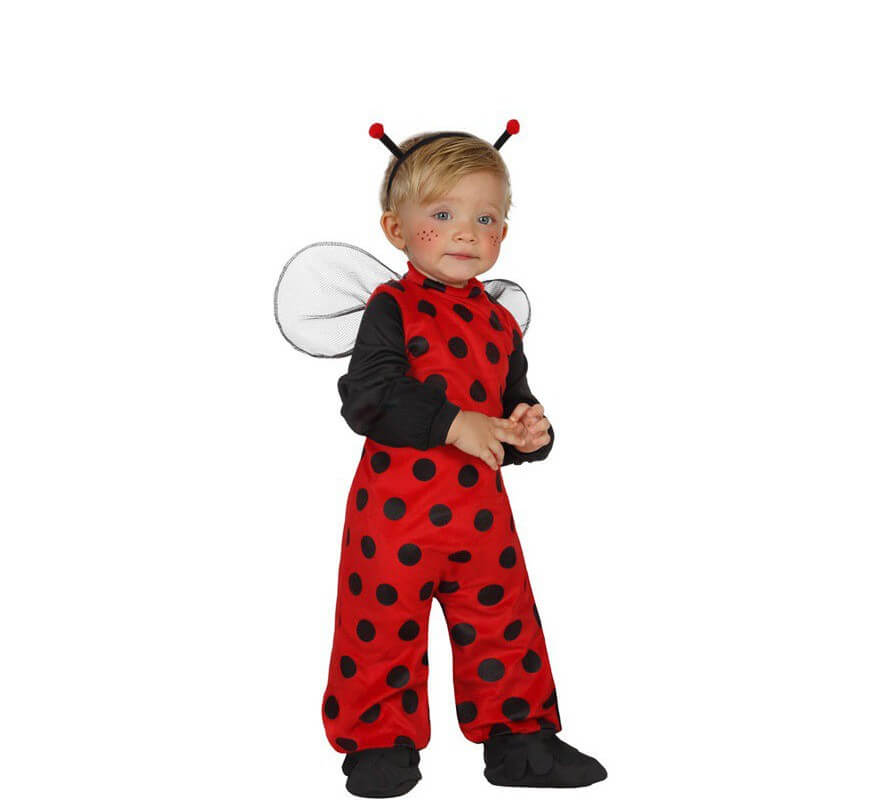 Disfraz de mariquita para beb s - Disfraz para bebes ...