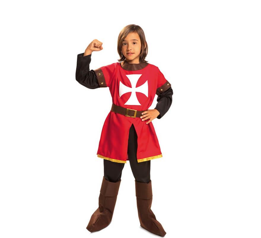 Disfraz de Marqués de Malta medieval para niño