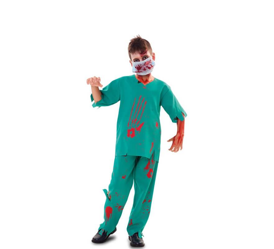 443d8a257caa6 Disfraz de Médico Zombie para niño