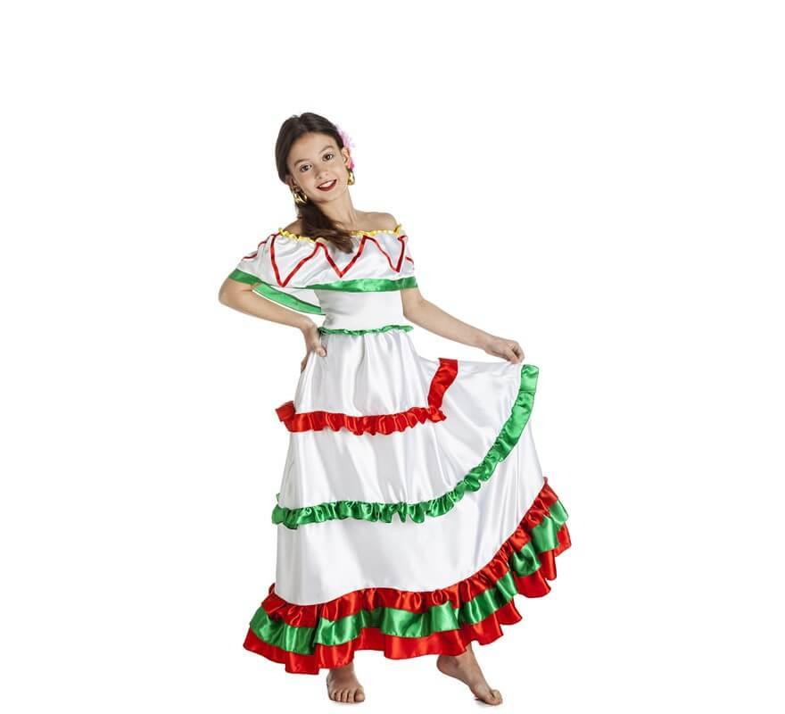 b10430807a Disfraz de Mexicana para niña