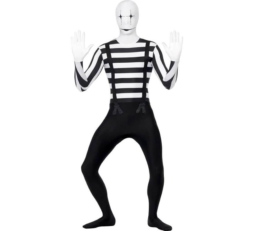 Disfraz de Mimo Segunda Piel para hombre a00bc62d8c7