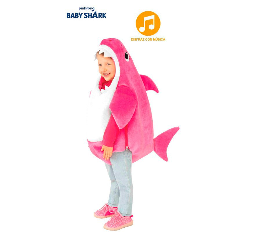 Disfraz De Mommy Shark Con Música Para Niños Y Bebé