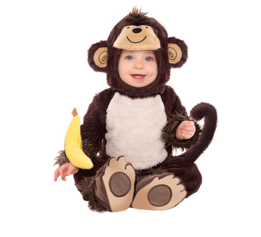 Disfraz de monito para beb s - Disfraz halloween bebe 1 ano ...