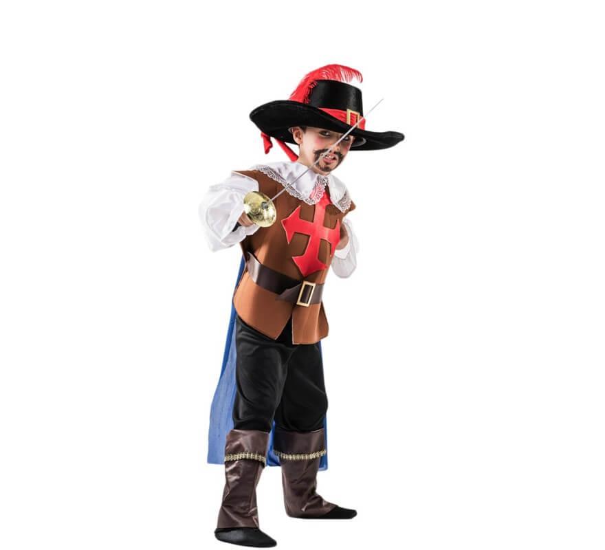 Disfraz de Mosquetero para niño 0fd0e6d62615
