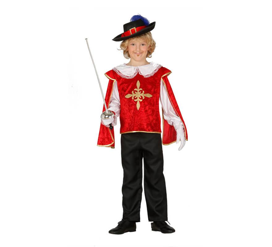 Disfraz de mosquetero rojo - Disfraz casero mosquetero ...