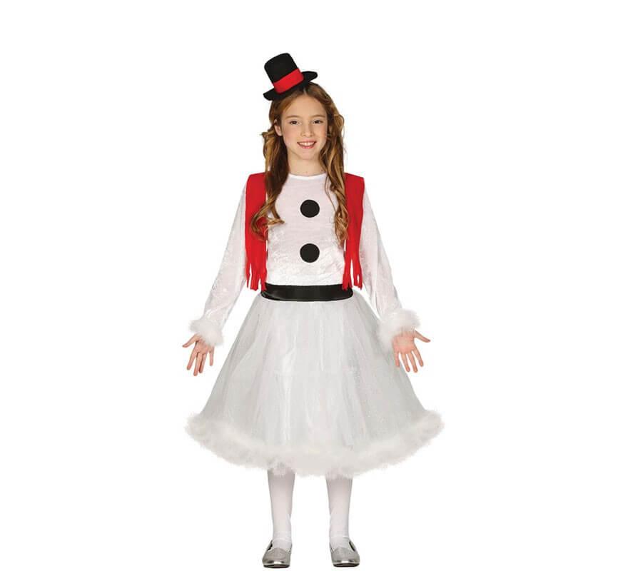 Disfraz de Muñeca de Nieve para niña fde5050cddf