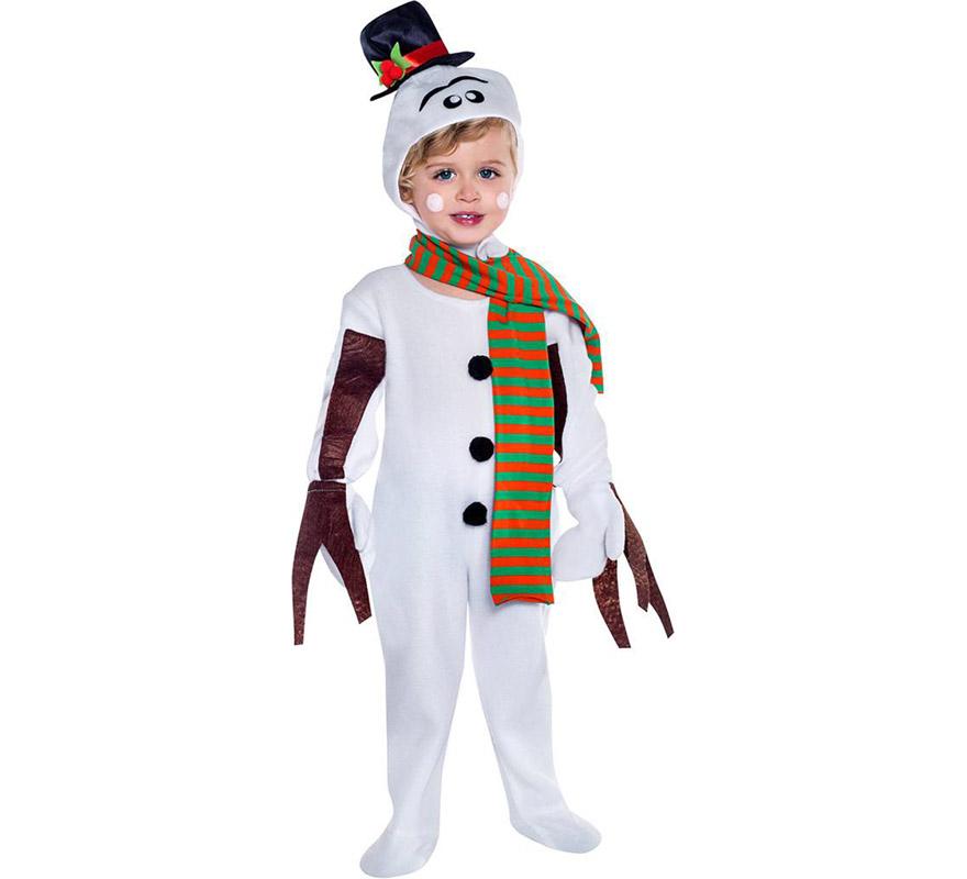 Disfraz de mu eco de nieve - Disfraz para navidad ...