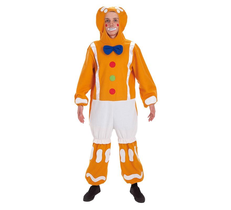 Disfraz de mu eco galleta de jengibre para hombre for Hombre de jengibre