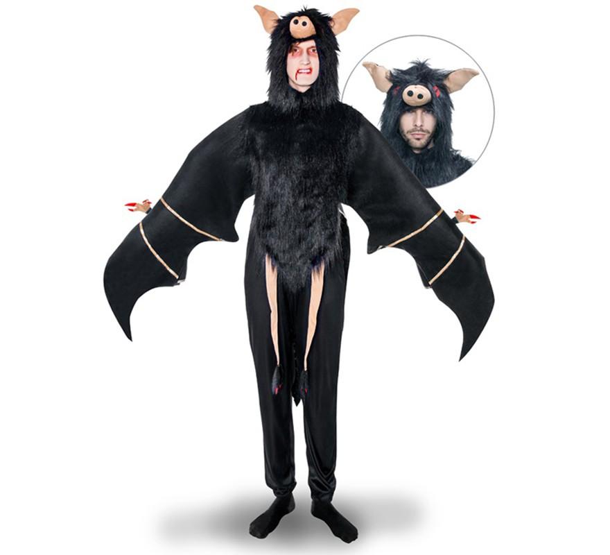 Disfraz de Murciélago negro para hombre
