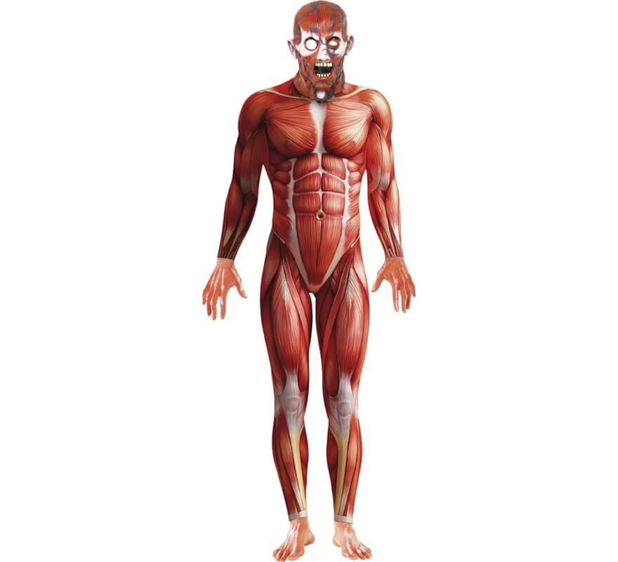 Disfraz de Músculos Segunda Piel para hombre
