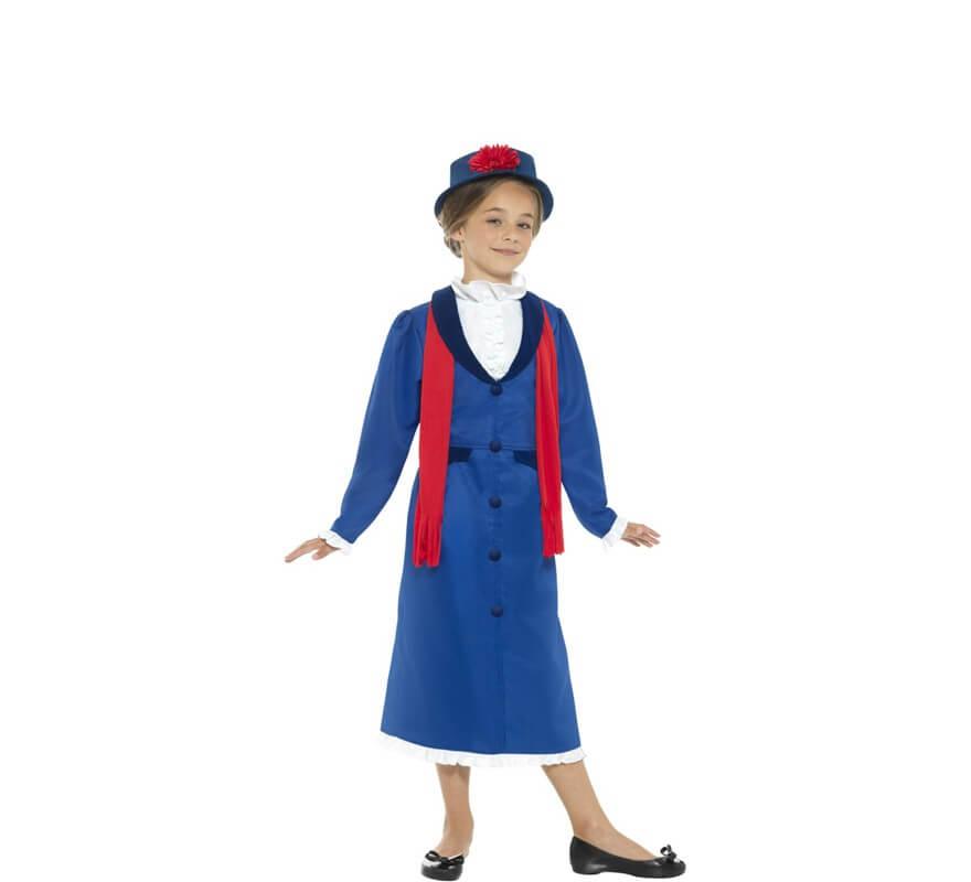 Disfraces Y Ropa De época Niña Victoriana Niñera Disfraz Mary Poppins Disfraz De Carnaval Traje De Niño Malishaedu