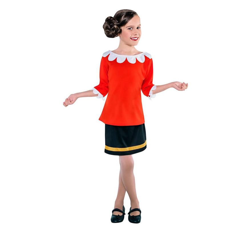 Disfraz de Novia de marinero para niña