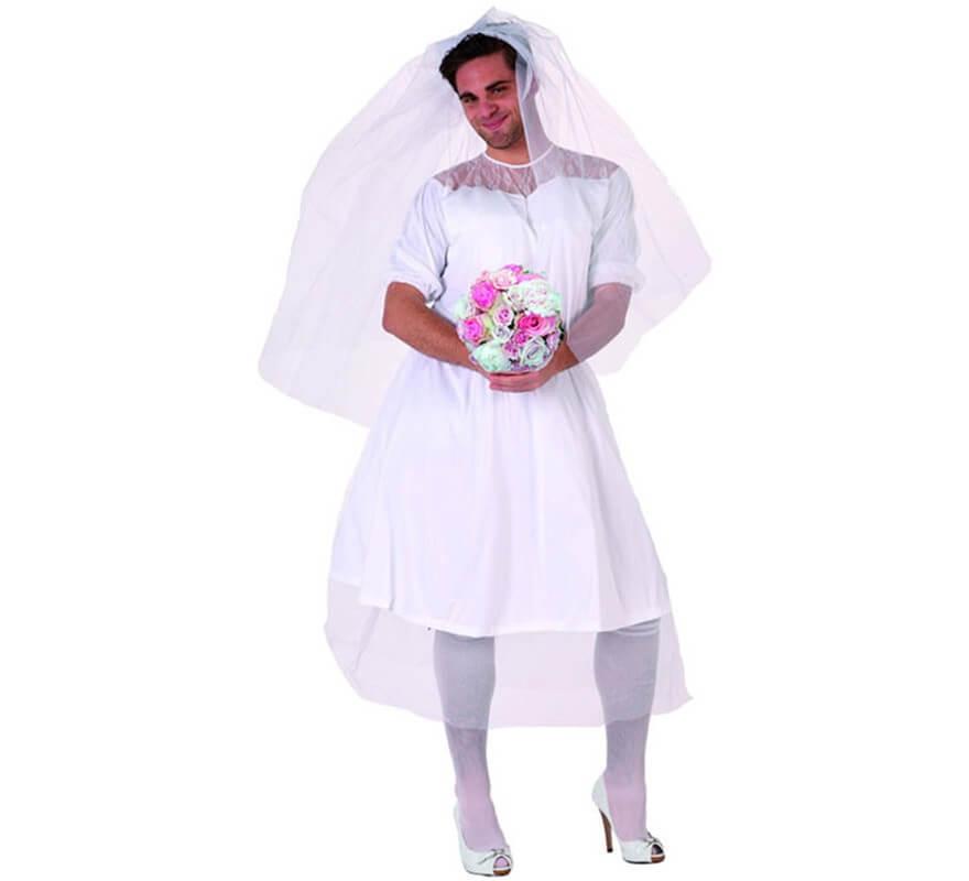 7117ee8c7008e Déguisement Humoristique de Mariée pour homme