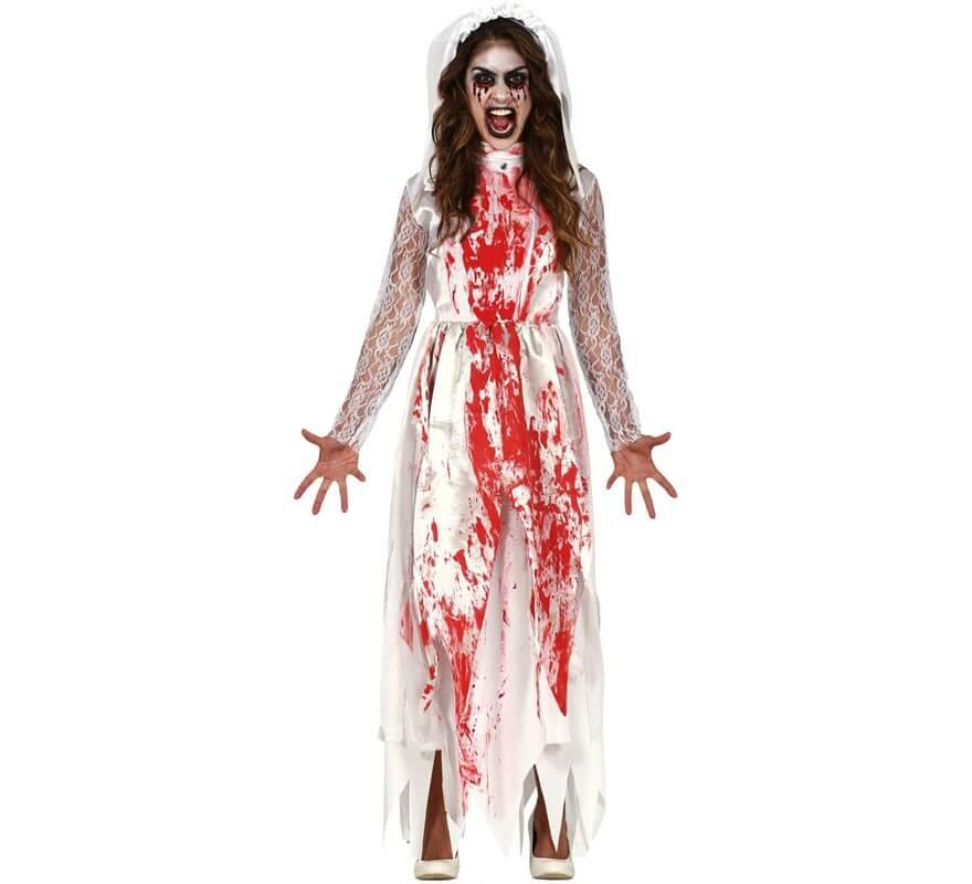 Collant Insanguinato Halloween Costume Adulto