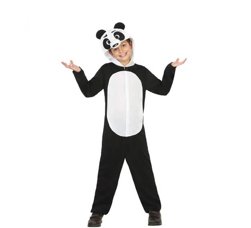Disfraz de Oso Panda para nio