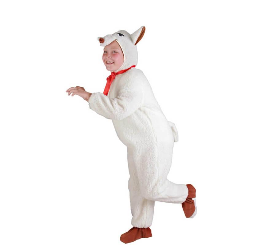 Costume Agnello Bambini Costume PECORA BIANCA 3-5 anni COSTUME ANIMALI PECORA AGNELLO COSTUME OUTFIT