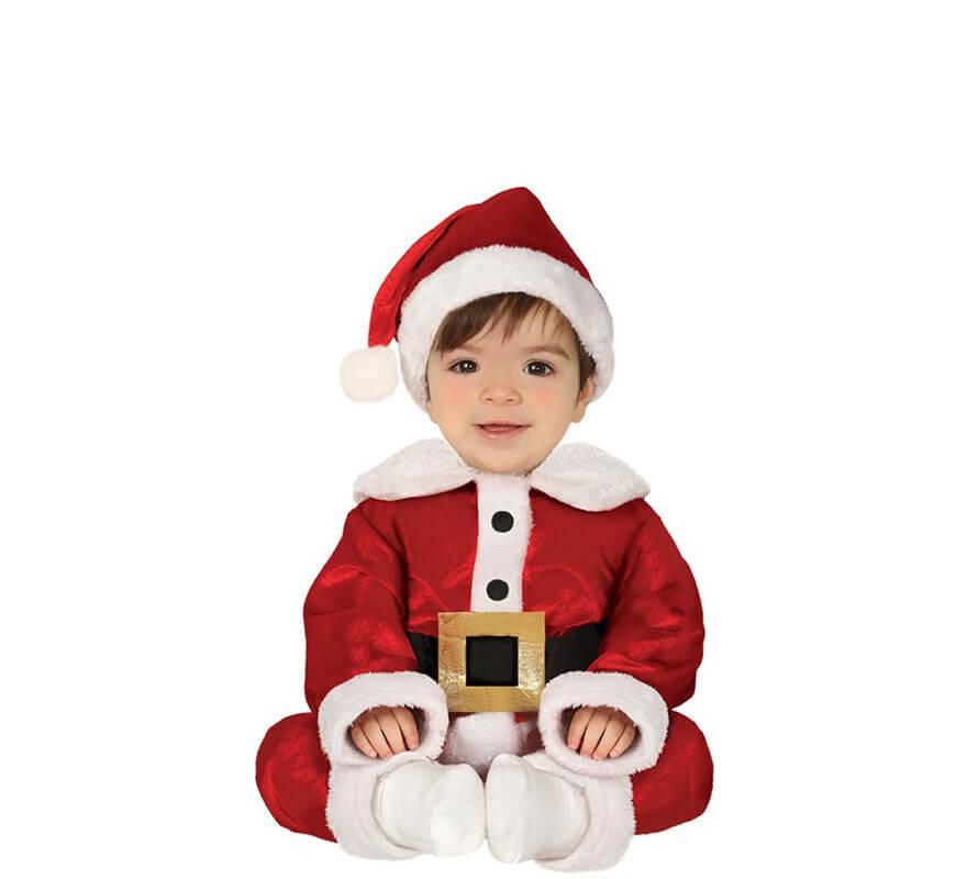 1feb87f0f Disfraz de Papá Noel con Cinturón para bebé