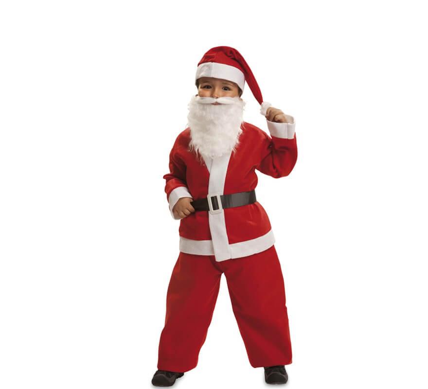 Disfraz de Papa Noel para niño y bebé