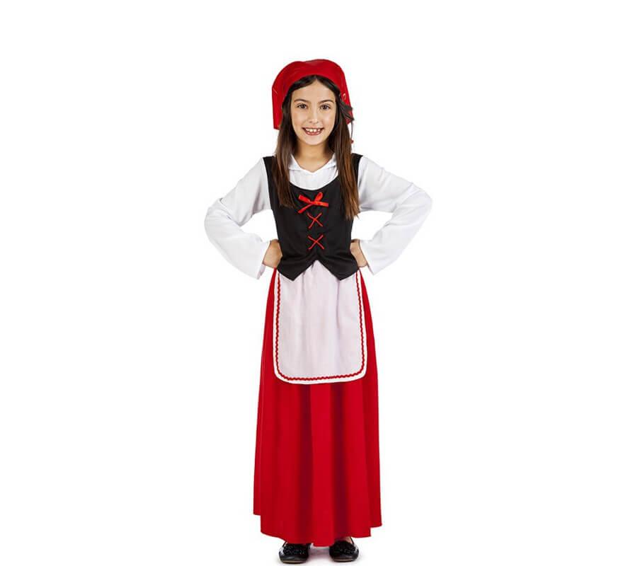 Niña De Aldeana Para Pastora Disfraz nwPk8O0