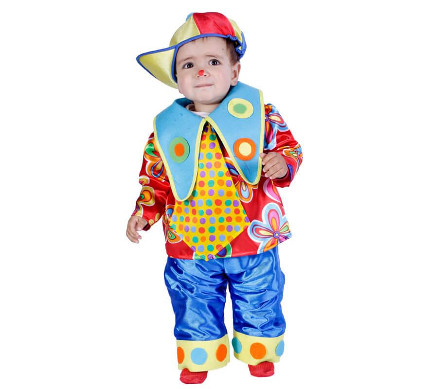 Disfraz De Payasito Bebe 18 Meses