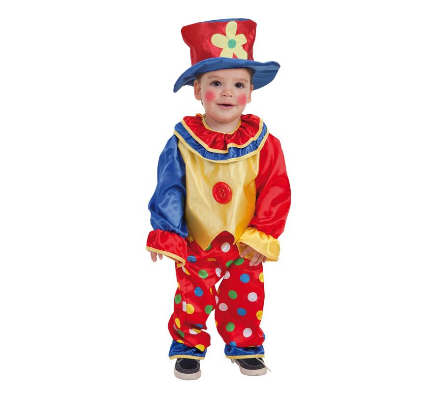 Disfraz de payasito pep n para beb - Disfraz para bebes ...