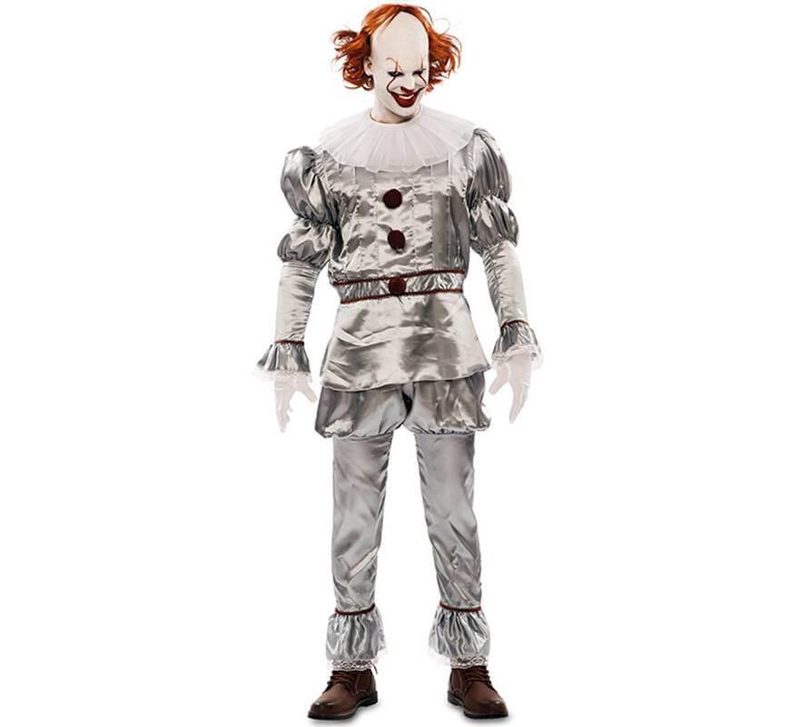 foto de Disfraz de Payaso del Terror para hombre
