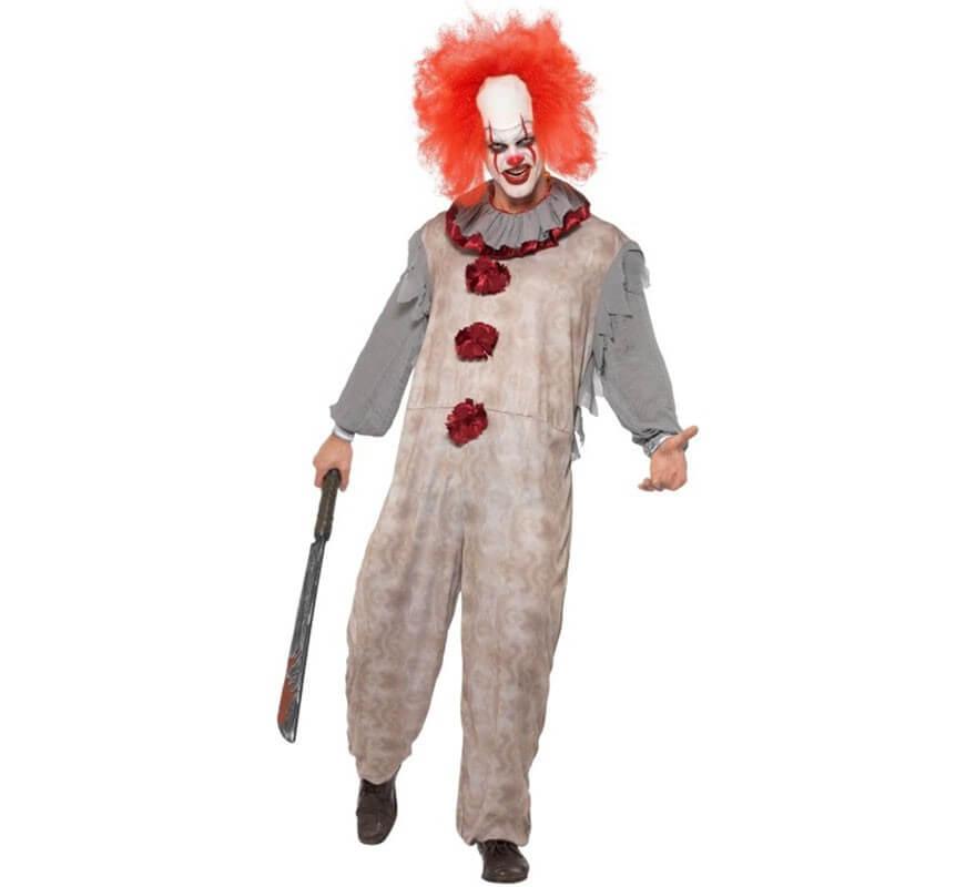 Fiori Clown-Gilet Nuovo-Uomo Carnevale Travestimento Costume