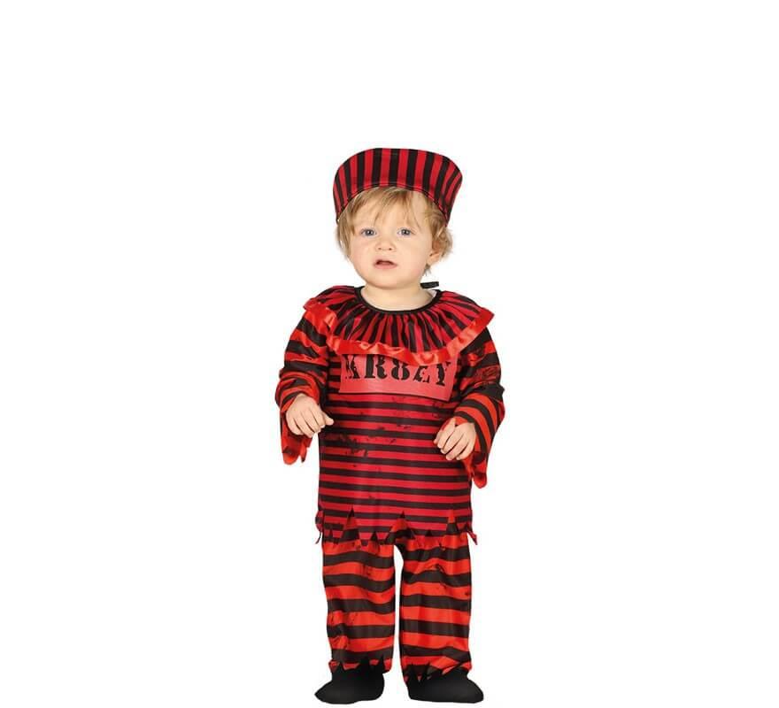 Disfraz de Payaso Preso para bebé