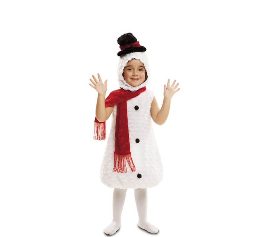 Disfraz de peluche mu eco de nieve para ni os - Disfraces de duendes navidenos para ninos ...