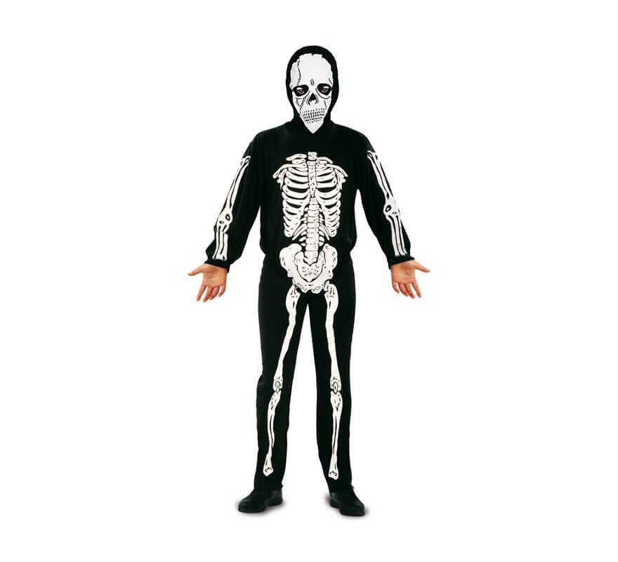 d guisement de squelette pour gar ons en plusieurs tailles halloween. Black Bedroom Furniture Sets. Home Design Ideas