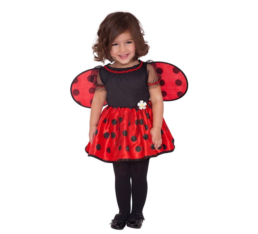 Disfraz de peque a mariquita para beb s de 12 a 24 meses - Disfraz de mariquita de nina ...
