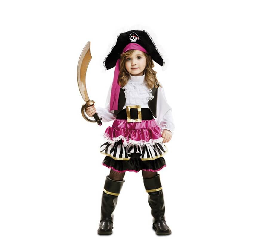 Disfraz de peque a pirata para ni a - Disfraces de angel para nina ...