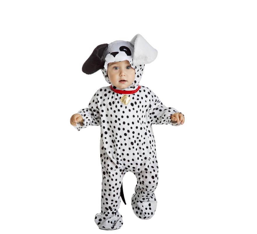 Disfraz de perro d lmata para beb - Como hacer un disfraz de bebe ...
