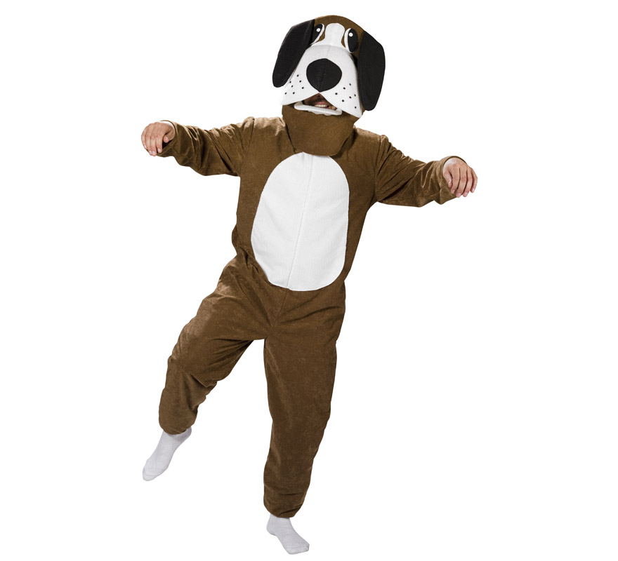 disfraz de perro san bernardo