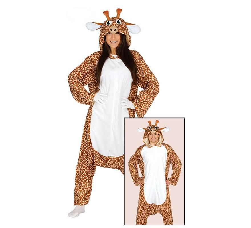 Disfraz de Pijama de Jirafa para adultos