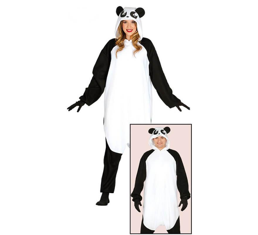 48db151b7 Disfraz de Pijama Oso Panda para adultos