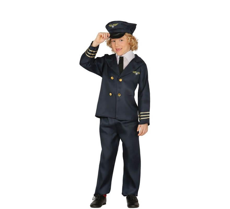 Avión Piloto De Para Disfraz Niño 8P0OkNwXn
