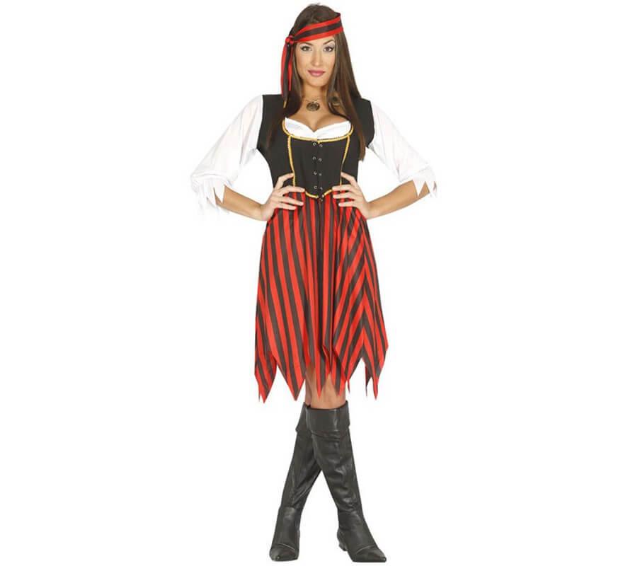 Da UOMO PIRATA CAMICIA COSTUME PIRATI DEI CARAIBI Halloween Completo