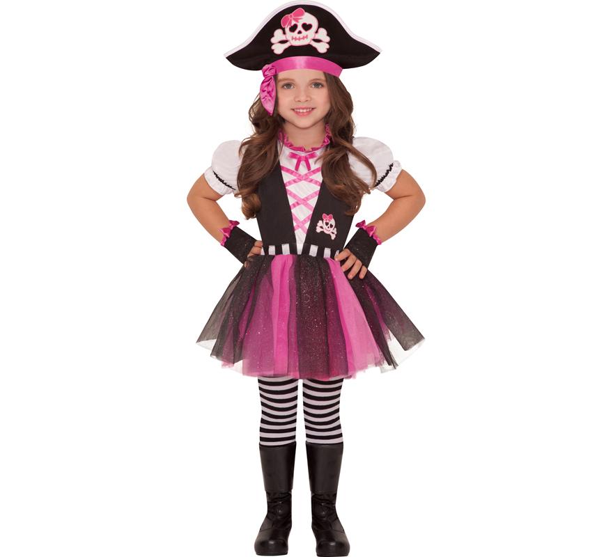 de pirata presumida para niñas