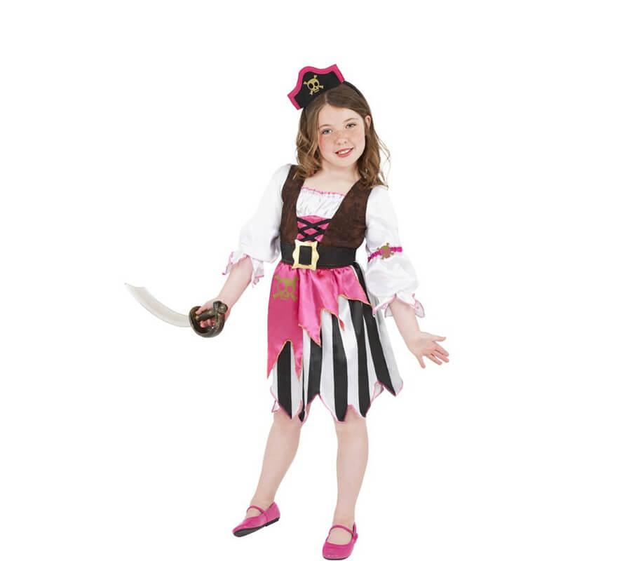 Rose Tailles Fille Déguisement Plusieurs Pirate n0P8wNOkXZ